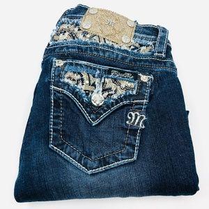 Miss Me : Ke88075 Skinny Girls Jeans Size 14